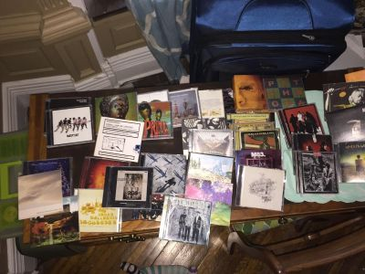 Big eclectic cd music collection
