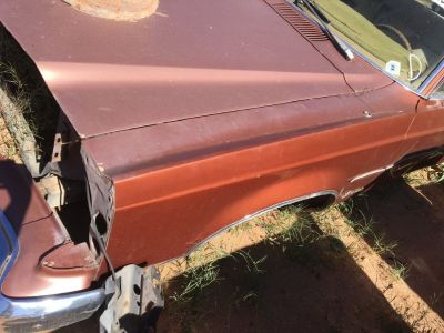 1977 Ford Granada Drivers Side Fender (PARTING OUT)