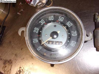 march 1964 Speedometer