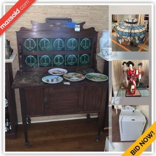 Monte Sereno Estate Sale Online..