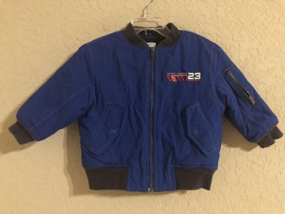 Space Mission Insulated Zip Up Coat. Look At All Pictures To See The Space Design On Back. Gymboree Brand