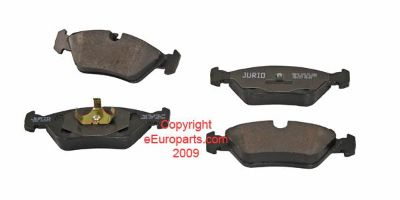 Find NEW Jurid BMW Disc Brake Pad Set - Front 34111161717J motorcycle in Windsor, Connecticut, US, for US $41.91