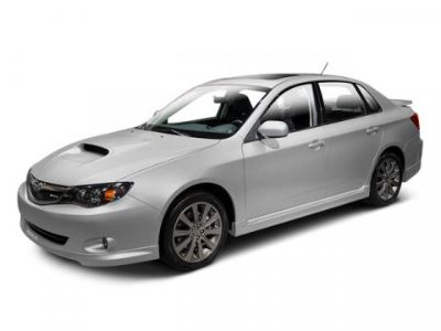 2010 Subaru Impreza WRX Base (Lightning Red)