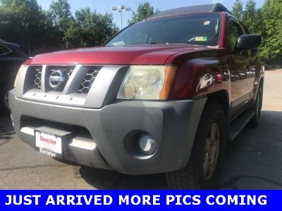 2006 Nissan Xterra S (Red Brawn Clearcoat)