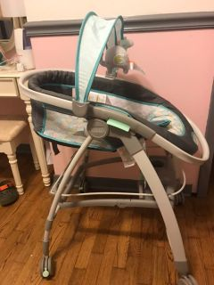 ingenuity inreach baby infant mobile lounger bouncer