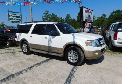 2012 Ford Expedition EL XLT (White)