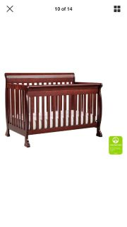 4 in one Convertible crib.. Convert Two toddler bed, transirion bed, and then I ll full-size