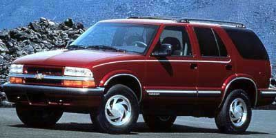 1999 Chevrolet Blazer LT (Light Pewter Metallic)