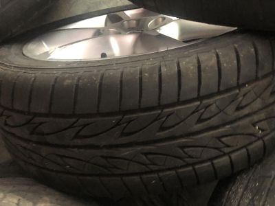 Factory 18 wheels and tires 5lug Nissan
