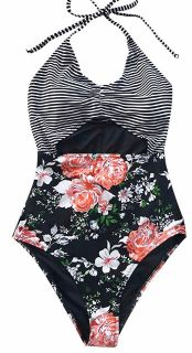 Cupshe one piece swimsuit-size large