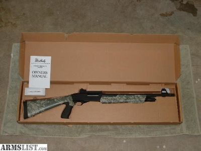 For Sale: Weatherby PA-459 Pump Camo Threat
