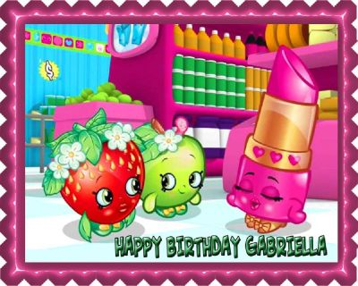 Surprise Your Kids with Shopkins Edible Cake Images