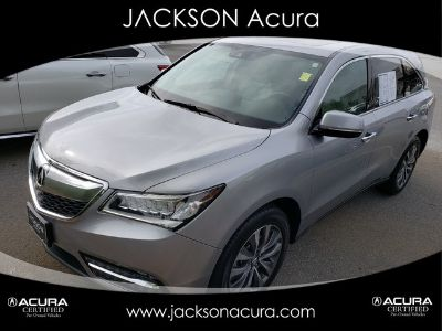 2018 Acura MDX PREMIUM W/ACURA WATCH (LUNAR SILVER METALLIC)