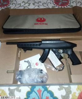 For Sale: New in box ruger charger 22lr