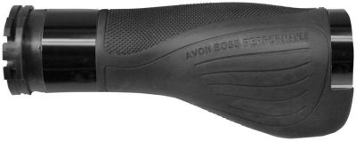 Sell Avon Grips Boss Performance Grips - Rubber - Black Anodized ABP-86 motorcycle in South Houston, Texas, US, for US $67.49