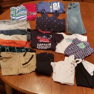 Boys clothes lot size 24 months