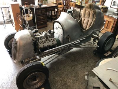 Original Find! 1946 Solar Aircraft Midget Race Car Prototype