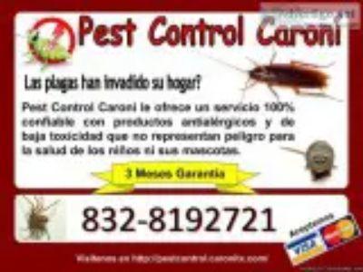 Problemas con chinches cucarachas termitas pulgas u otras Plagas