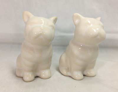 French Bull Dog Salt and Pepper Shaker, Cravings by Chrissy Teigen, White Stoneware