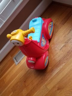 Fisher price ride on with smart stages