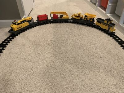 Caterpillar construction train set EUC