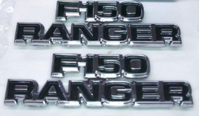 Sell 1977-79 FORD TRUCK NOS F150 RANGER EMBLEMS XLT LARIAT 2X4 4X4 FREE WHEELING motorcycle in Tipp City, Ohio, United States, for US $110.00