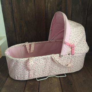 Large baby bassinet for American Girl, Our Generation, or My Life dolls