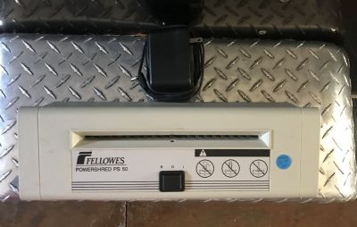 Fellowes Powershred PS 50 With Adapter