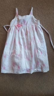 Beautiful cotton Easter/summer dresses size 6 and 4