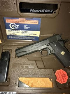 For Sale: Colt 1911 M1991a1 in original box
