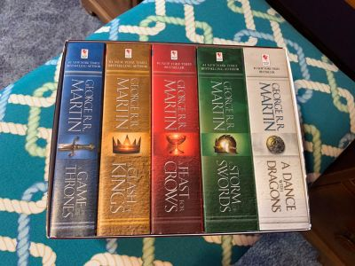 New Game of Thrones books