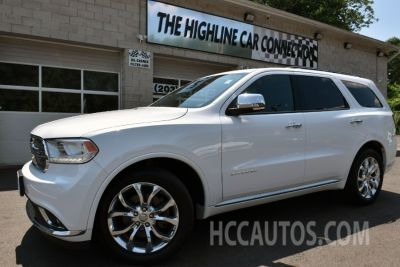 2016 Dodge Durango AWD 4dr Citadel Anodized Plati (Brilliant Black Crystal Pearlcoat)