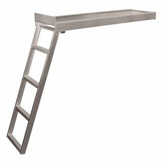 Buy JIF Marine CSD2 Under-Deck Aluminu Ladder 4-Step for Round Front Pontoon Deck MD motorcycle in Hollywood, Florida, United States, for US $229.95