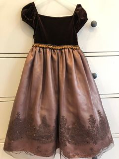 Brown Formal/Party Dress