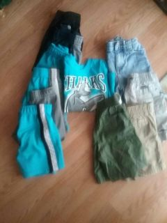 2T clothes/ 1 pair of 18m blue jean shorts