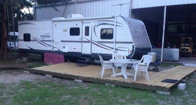 By Owner! 2014 30 ft. Heartland Pioneer QB30 w/slide