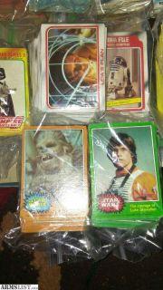 For Sale/Trade: Original star wars cards