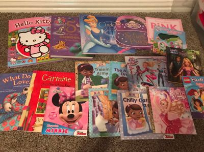 Girls book lot of 19