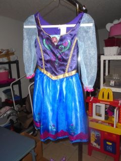 ANA from Frozen Dress up dress size 4-6x, excellent & clean!