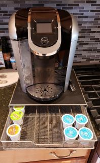 Keurig 2.0 and pod tray