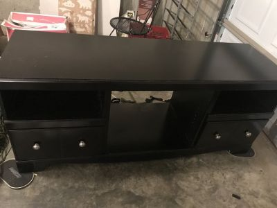 Ashley tv stand and fireplace insert