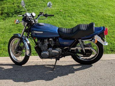 1978 Kawasaki KZ650 B