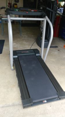 Treadmill with power incline. Like new!