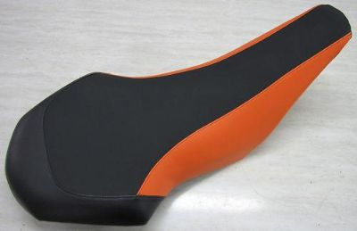 Sell KTM 525 450 505 seat cover ATV (GRIPPER) black and orange motorcycle in Howard, Pennsylvania, US, for US $29.99