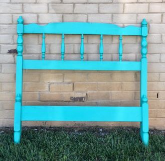 Twin bed frame. Great project light weight.