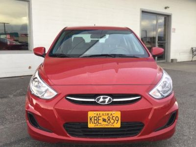 2017 Hyundai Accent GLS (BOSTON RED)