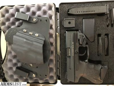 For Sale: HK P30SK V3 w/ green Crimson Trace