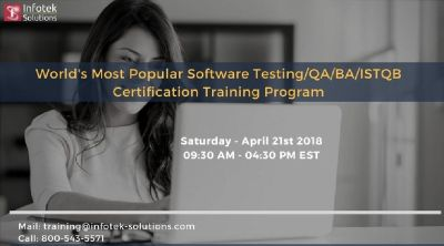 Software Testing/QA/BA/ISTQB Certification Training Programme