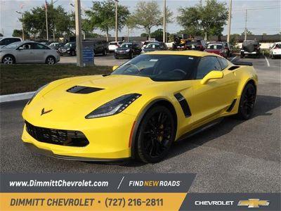 2019 Chevrolet Corvette Z06 (yellow)
