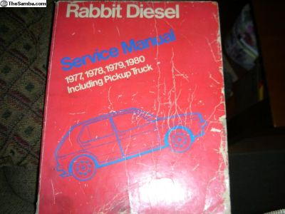Rabbit Diesel Service Manual 1977 - 1980